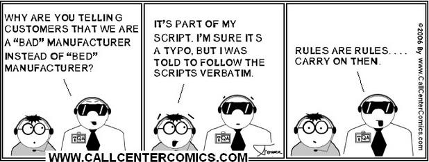 call center scripts